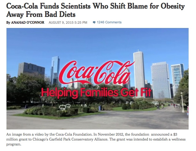 How to manipulate health research, and other corporate strategies
