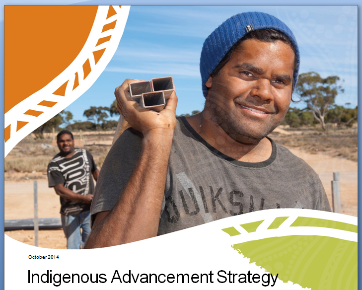 From the Indigenous Advancement Strategy fact sheet, issued October 2014.