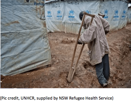 Investigating the unmet needs of children and refugees with disabilities