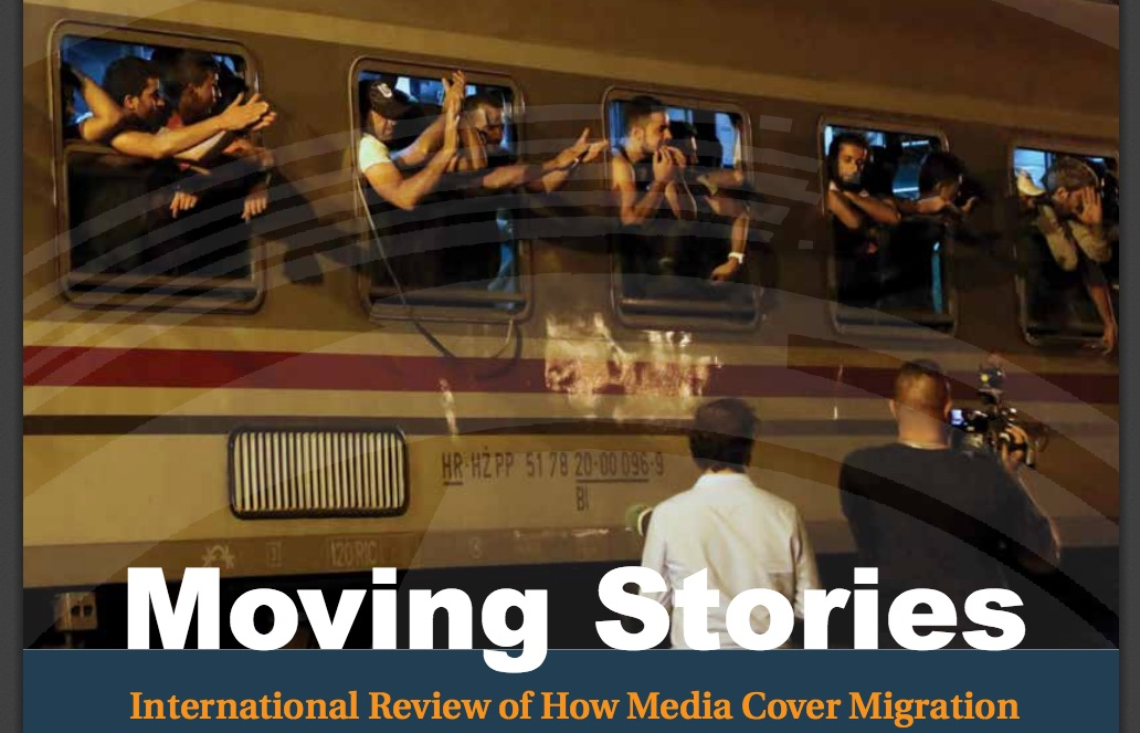 Cover image from a new report, by the UK-based Ethical Journalism Network