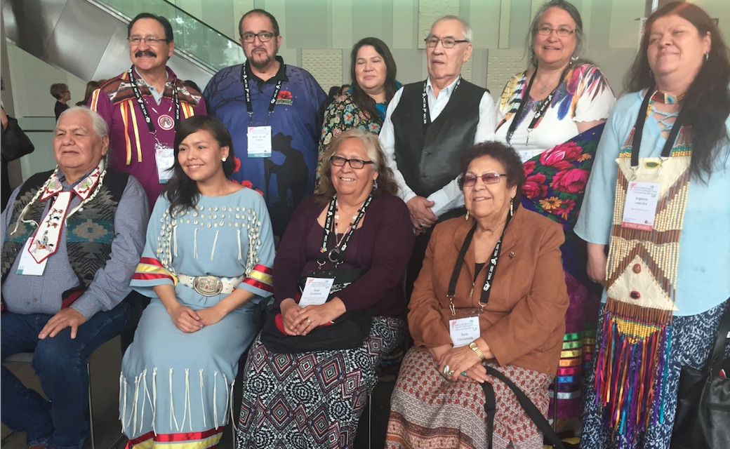 Elders and #WICC2016 participants from First Nations, Canada