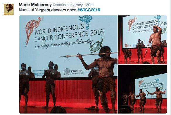A collaborative Twitter-essay from the World Indigenous Cancer Conference (plus Selfies)