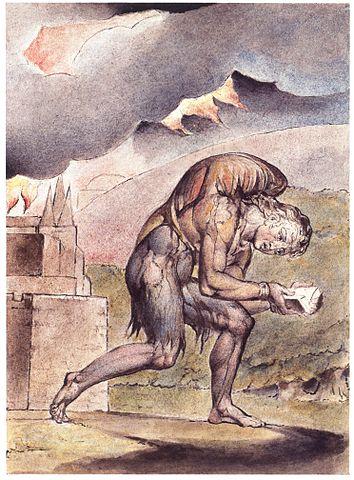 Christian reading his book, Pilgrim's Progress, John Bunyan, Frick collection, New York