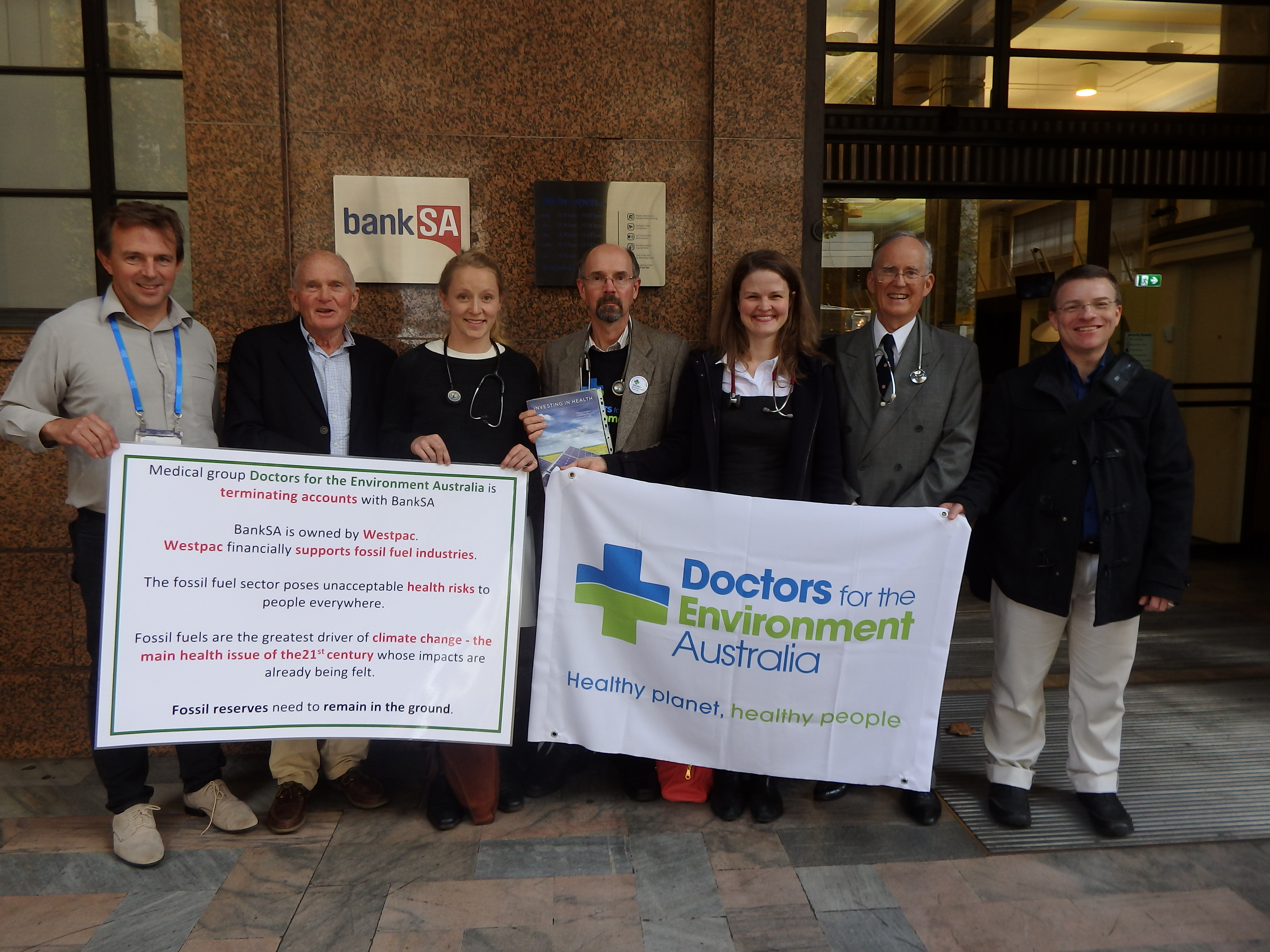 Where does your bank stand on fossil fuels? A call for health professionals to divest