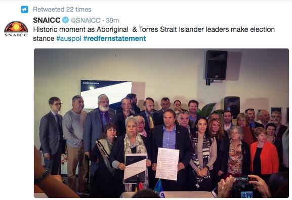 Signatories to the #RedfernStatement