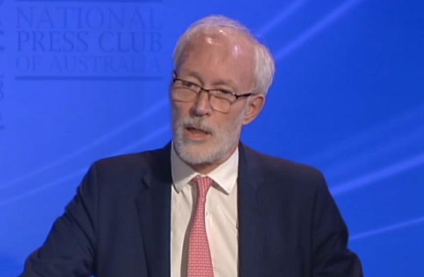 Professor Patrick McGorry at the National Press Club