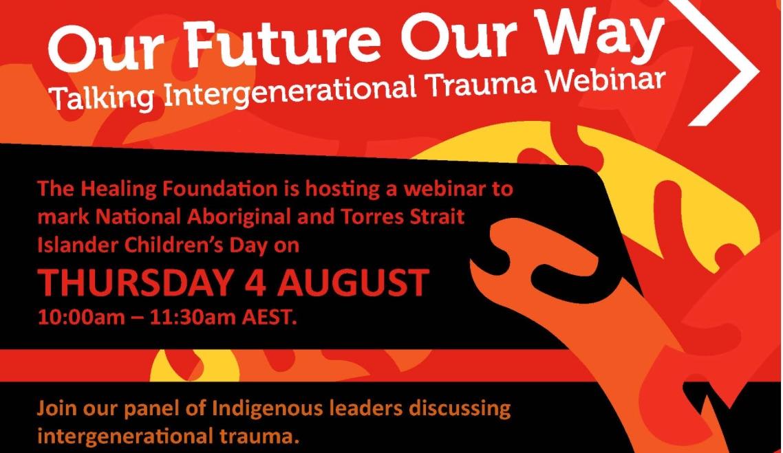Invitation to join #TalkTrauma webinar