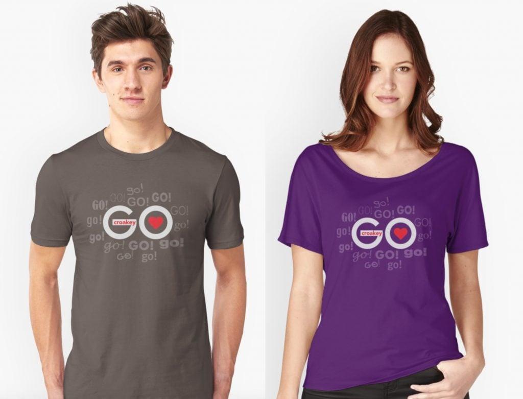 CroakeyGo-t-shirts