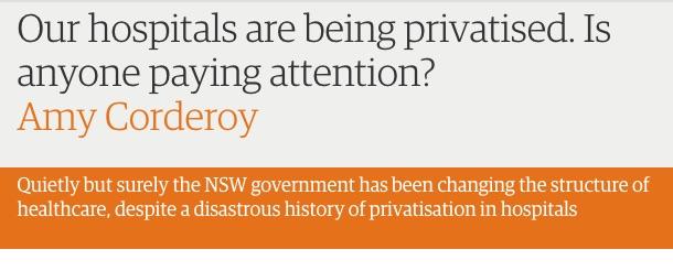 Recent headline in The Guardian