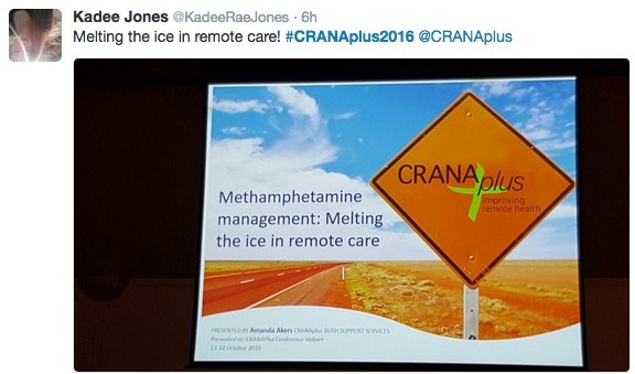 Melting the ice in remote health care - and other reports from CRANAplus2016
