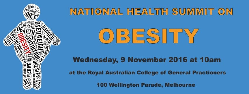 What's on the menu at the national obesity summit this week?
