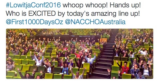 A final, multi-media wrap of LowitjaConf2016 - plus Wall of Selfies