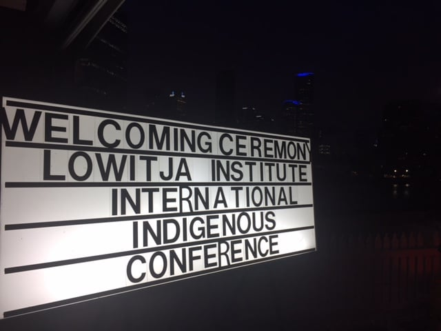 A strong and welcoming start to LowitjaConf2016 - follow here and on Twitter