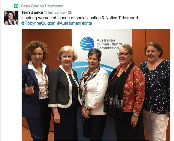 Watch the launch of the Social Justice and Native Title Report