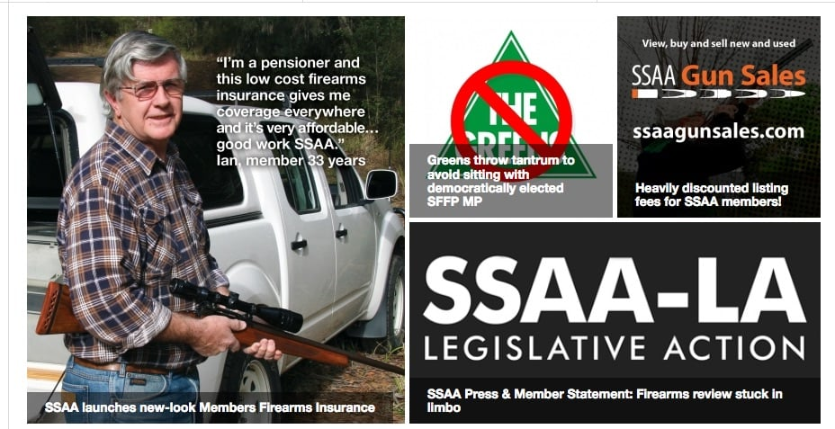 Detail from Sporting Shooters' Association of Australia website