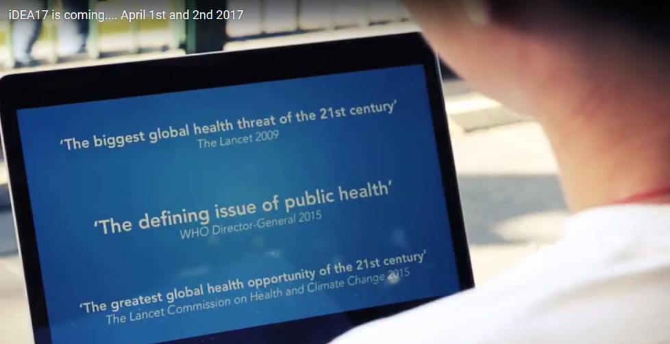 What can doctors do to better address climate health impacts? A quick glance at the iDEA conference