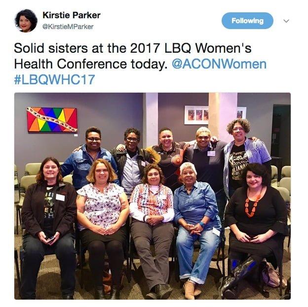 Listen to the voices of Aboriginal and Torres Strait Islander women at #LBQWHC17