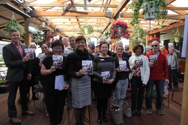 Over 100 people, including 25 survivors of head & neck cancer attended the launch of the new Patient Book at the Liverpool Hospital. Photo supplied