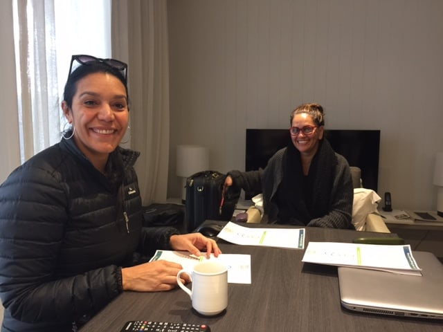 """Janine Mohamed (L) and Professor Roianne West: """"always leave a paper trail"""""""