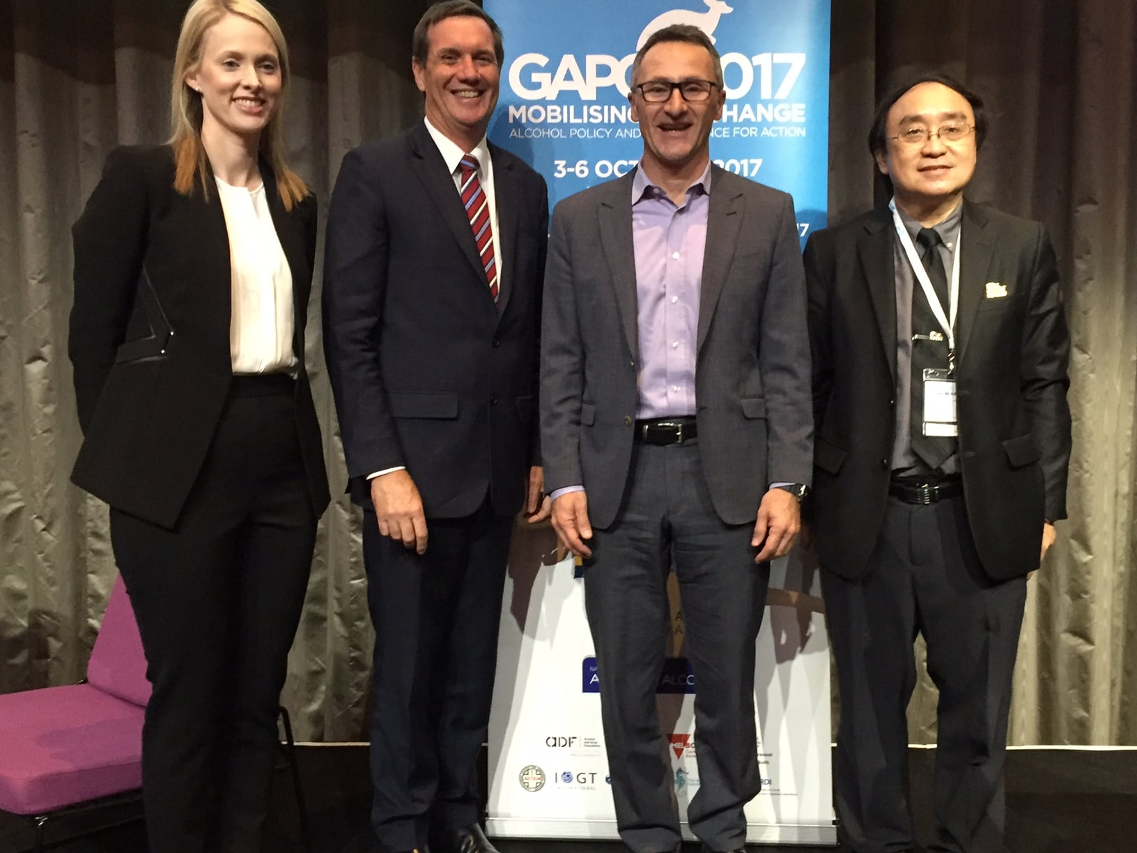 Calling last drinks for the alcohol industry - news from #GAPC2017