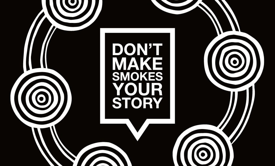 Detail from cover of the Don't Make Smokes Your Story Toolkit
