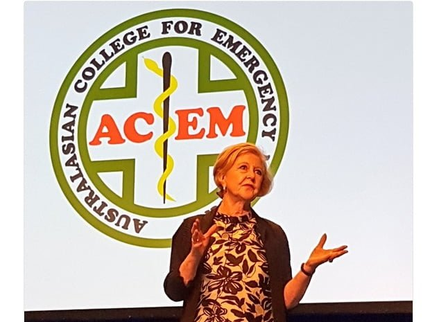 Emergency medicine doctors applaud