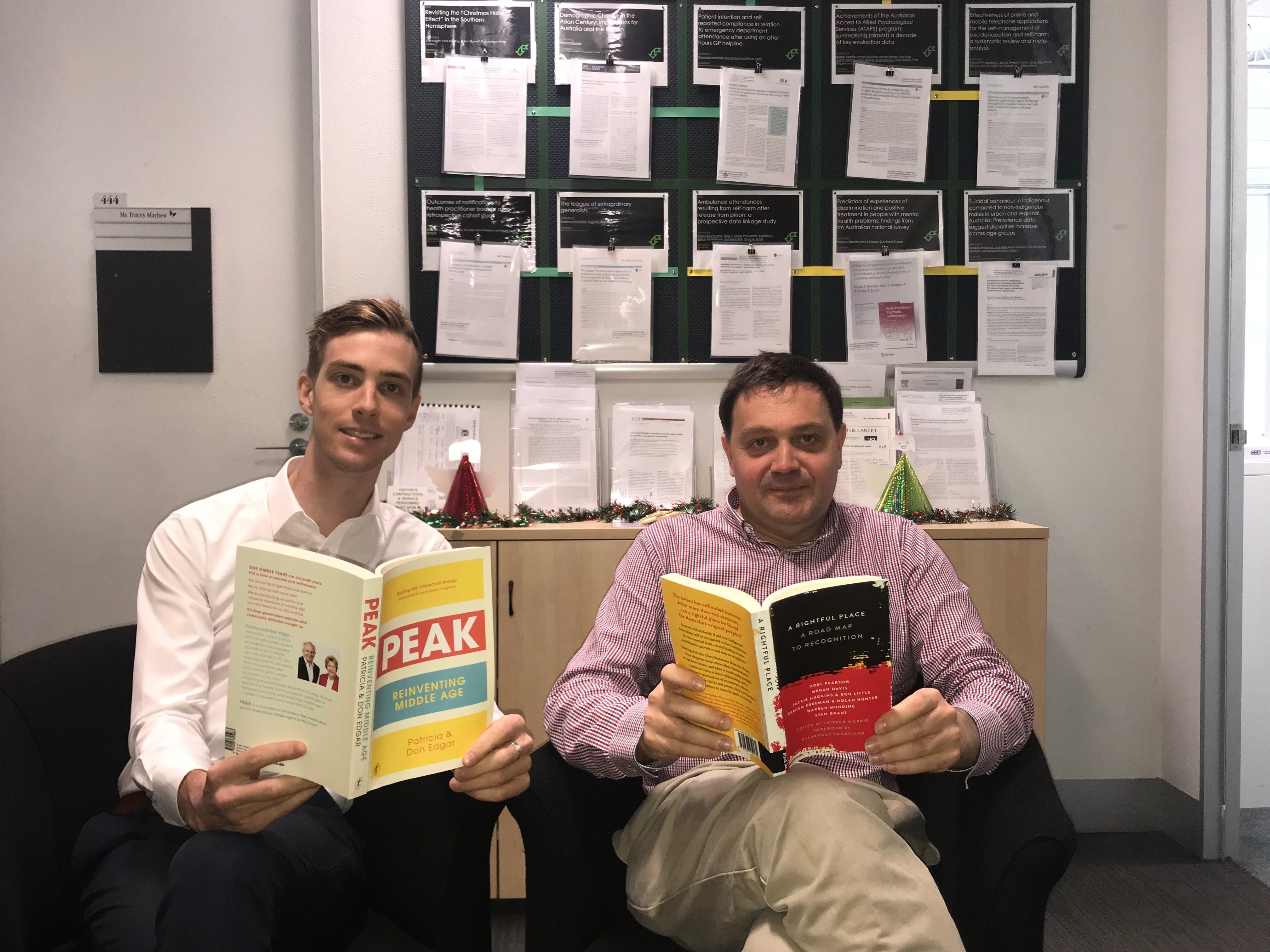 Some recommended reading from Jay Stiles and Professor Philip Clarke
