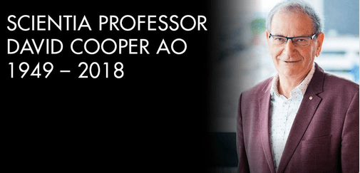 Vale Prof David Cooper: global pioneer and leader in HIV/AIDS research