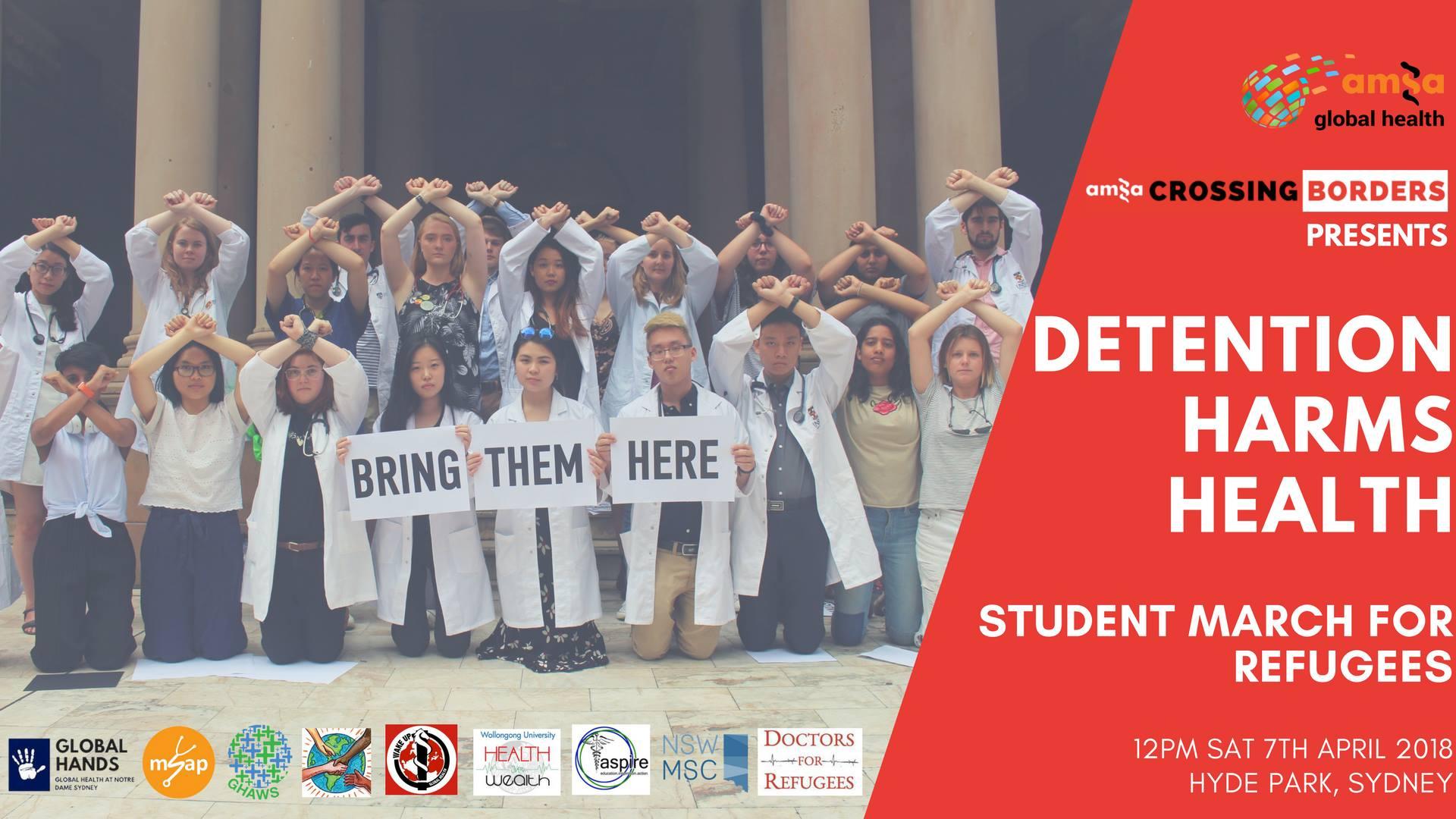 Medical students taking action on Australia's humanitarian crisis