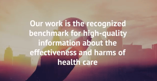 Cochrane row: what's at stake for reliable trustworthy evidence?