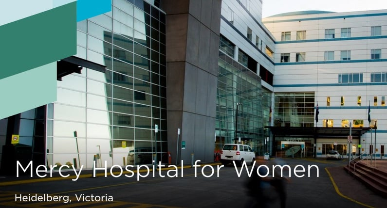 Taking a whole-of-hospital approach to improving care. Source of image: Mercy Hospital for Women website