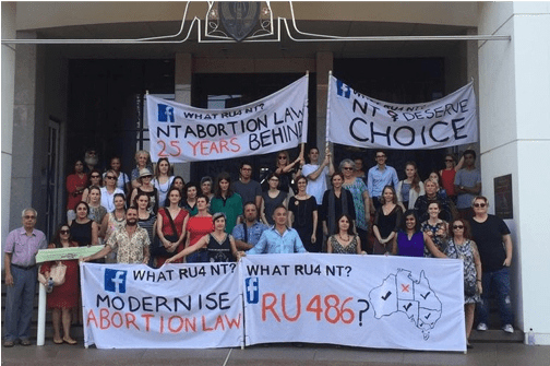 Does reforming abortion law make a difference to health practice? One year after in the Northern Territory
