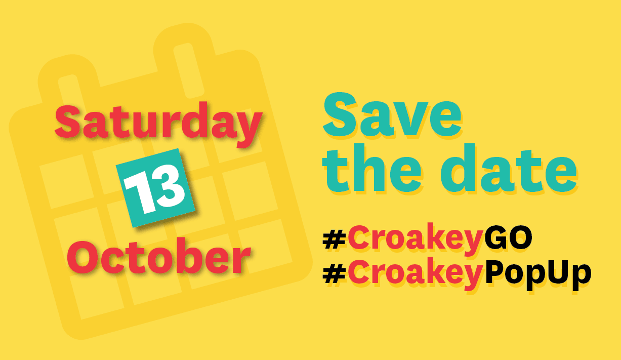 Save the date! 13 October for a #CroakeyGO and #CroakeyPopUp in Sydney