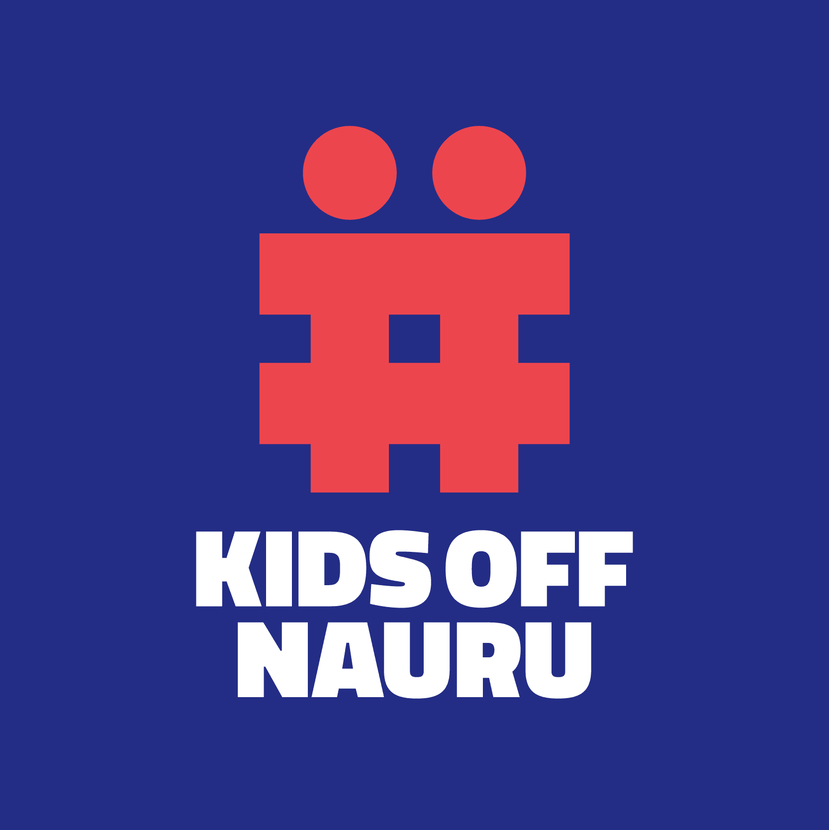 Graphic from the #KidsOffNauru campaign launched by World Vision