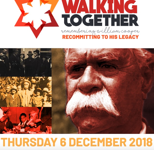 Honouring the legacy of William Cooper: an invitation to walk together