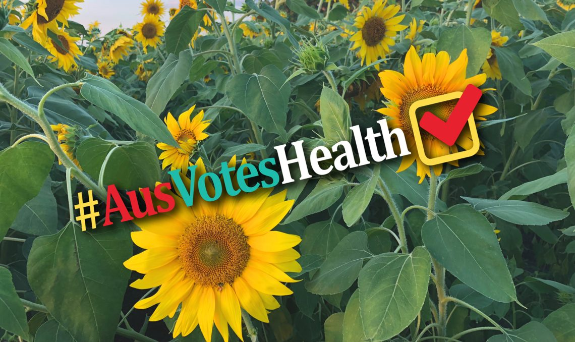 The latest in a series of articles from #AusVotesHealth Twitter festival.