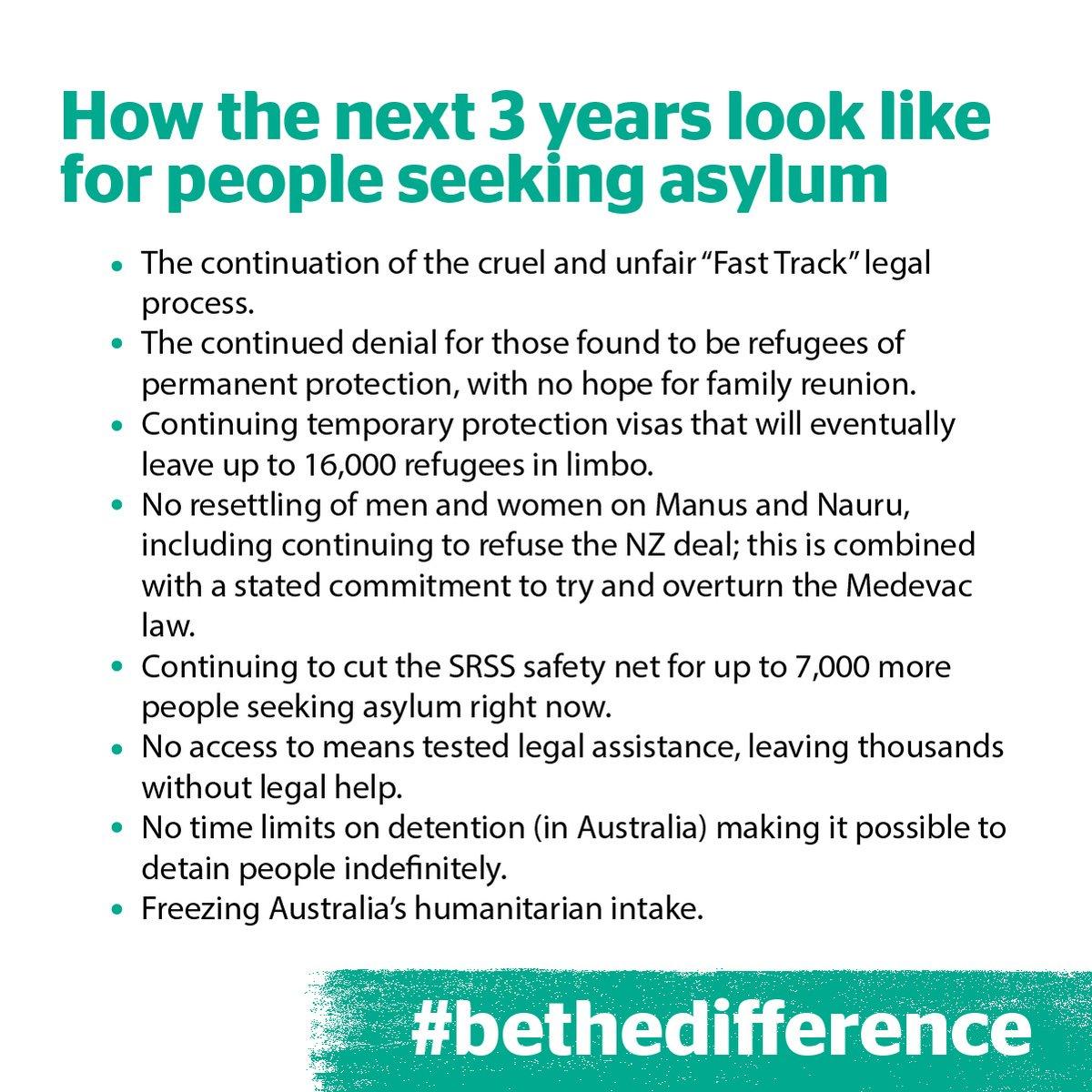 Morrison win sparks 'human crisis' of despair for refugees