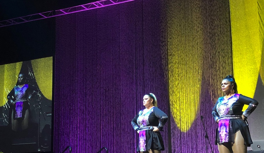 The Merindas, in action at #LowitjaConf2019 gala dinner. Photograph by Marie McInerney