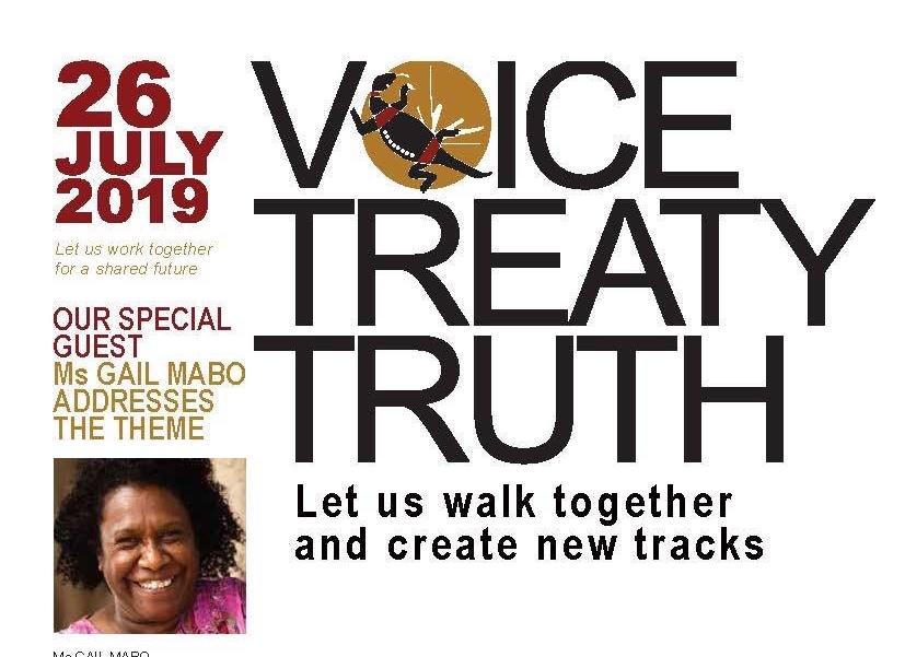 Flyer, Inaugural Gandangara LALC annual NAIDOC lecture 2019