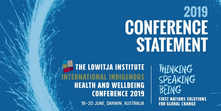 Twelve priorities for Indigenous health: read the #LowitjaConf2019 statement