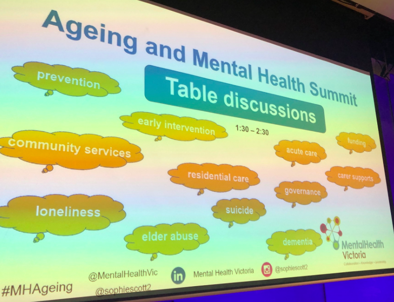 Watch these interviews on risks and responses in mental health and ageing