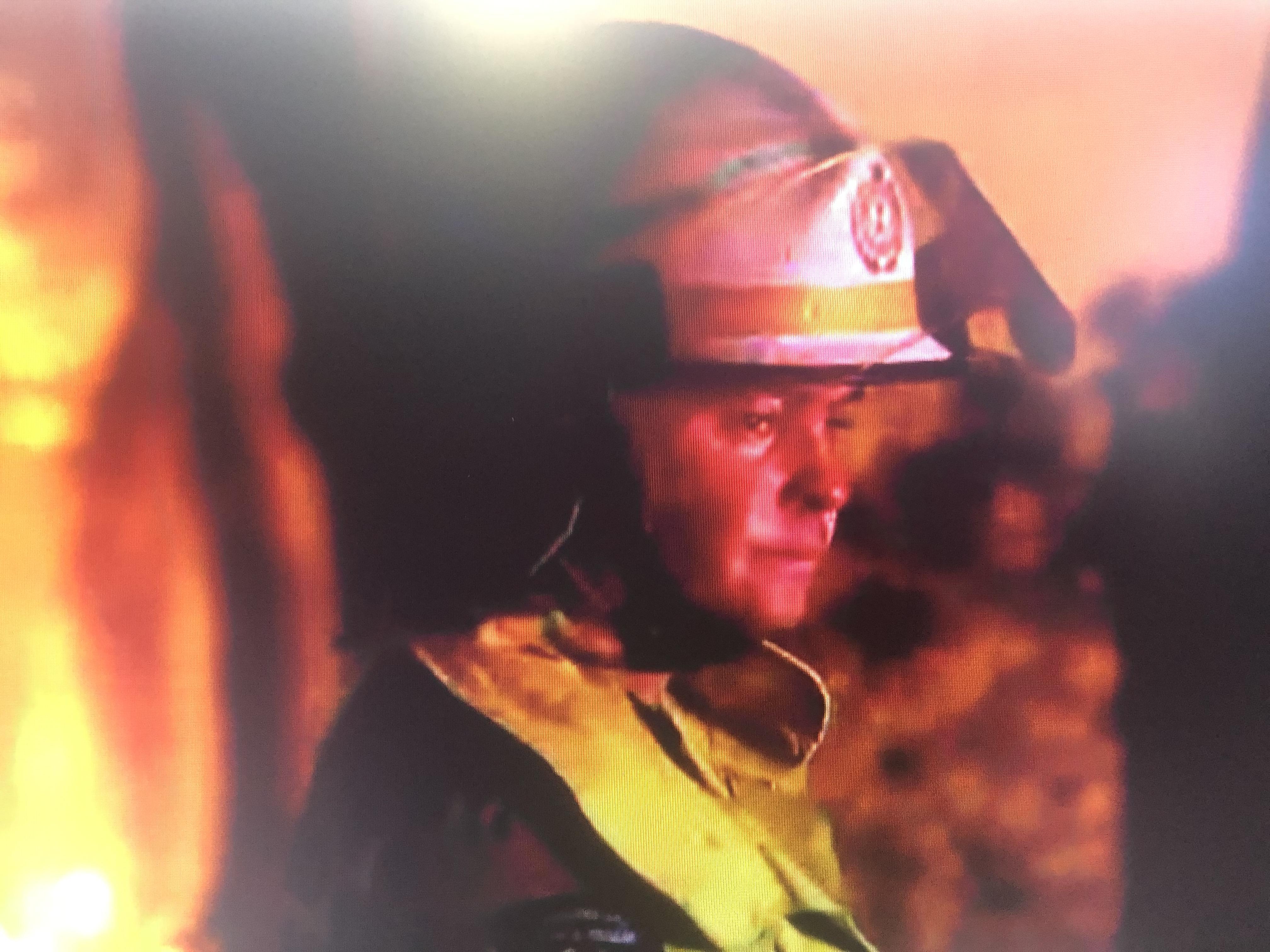 Still from ABC TV coverage of recent Australian bushfires