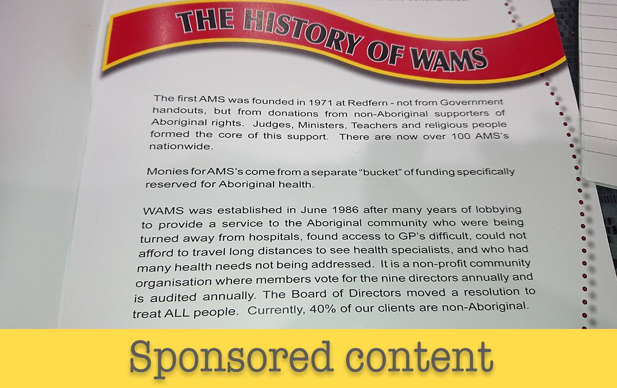 A primary care oasis: #CommunityControl success stories at Walgett AMS