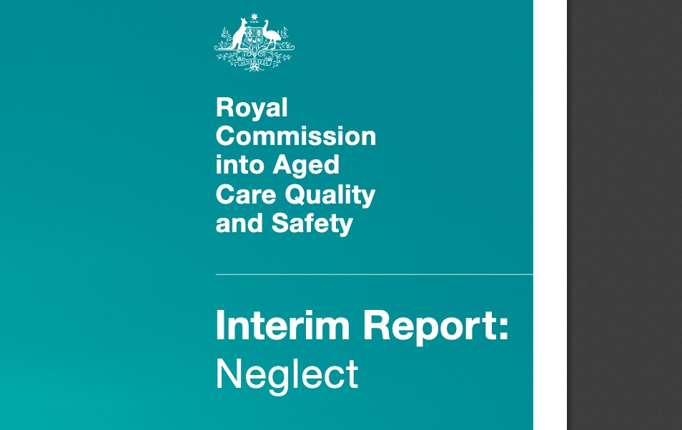 """The Commissioners hold no punches, titling their report, """"A shocking tale of neglect"""""""