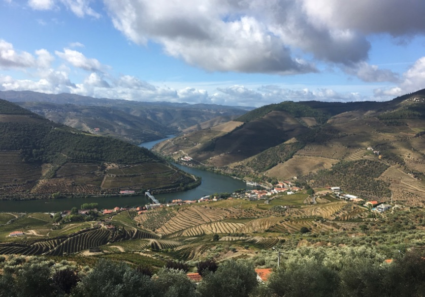 Sharing a walk in the stunning Douro Valley