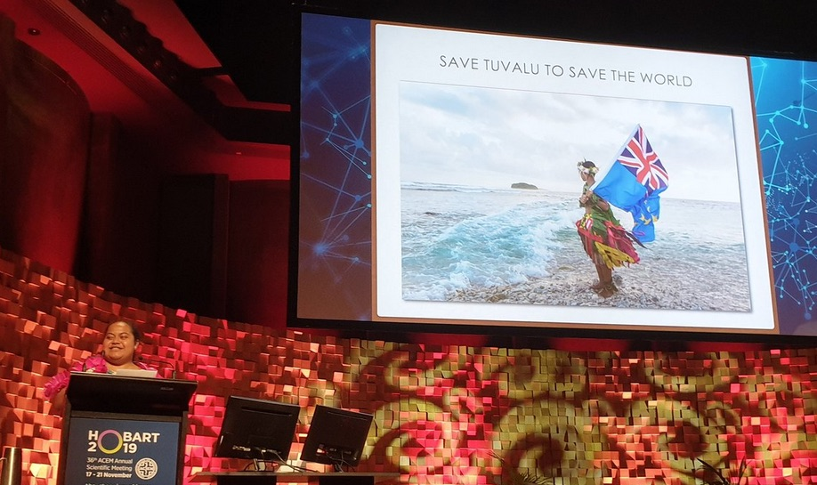 How to save the world from climate catastrophe? Listen to this doctor from Tuvalu...