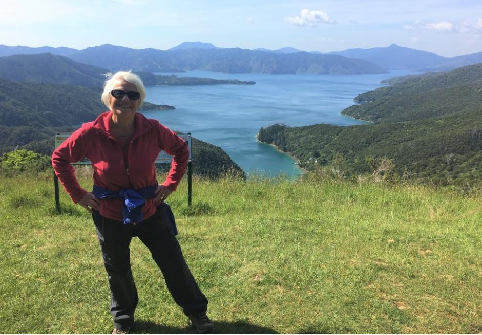 Enjoying endless vistas on another #CroakeyEXPLORE: Dr Lesley Russell