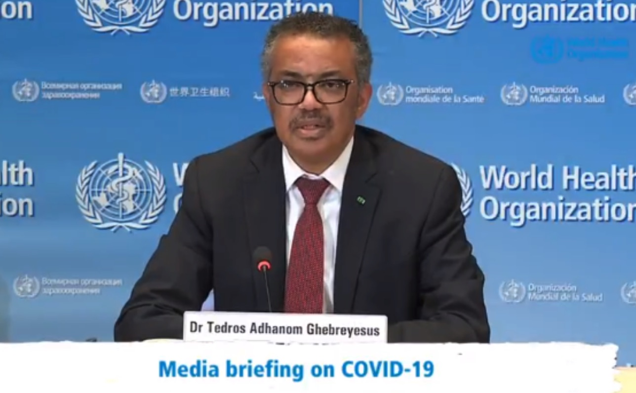 WHO's Director-General responds to the United States announcement