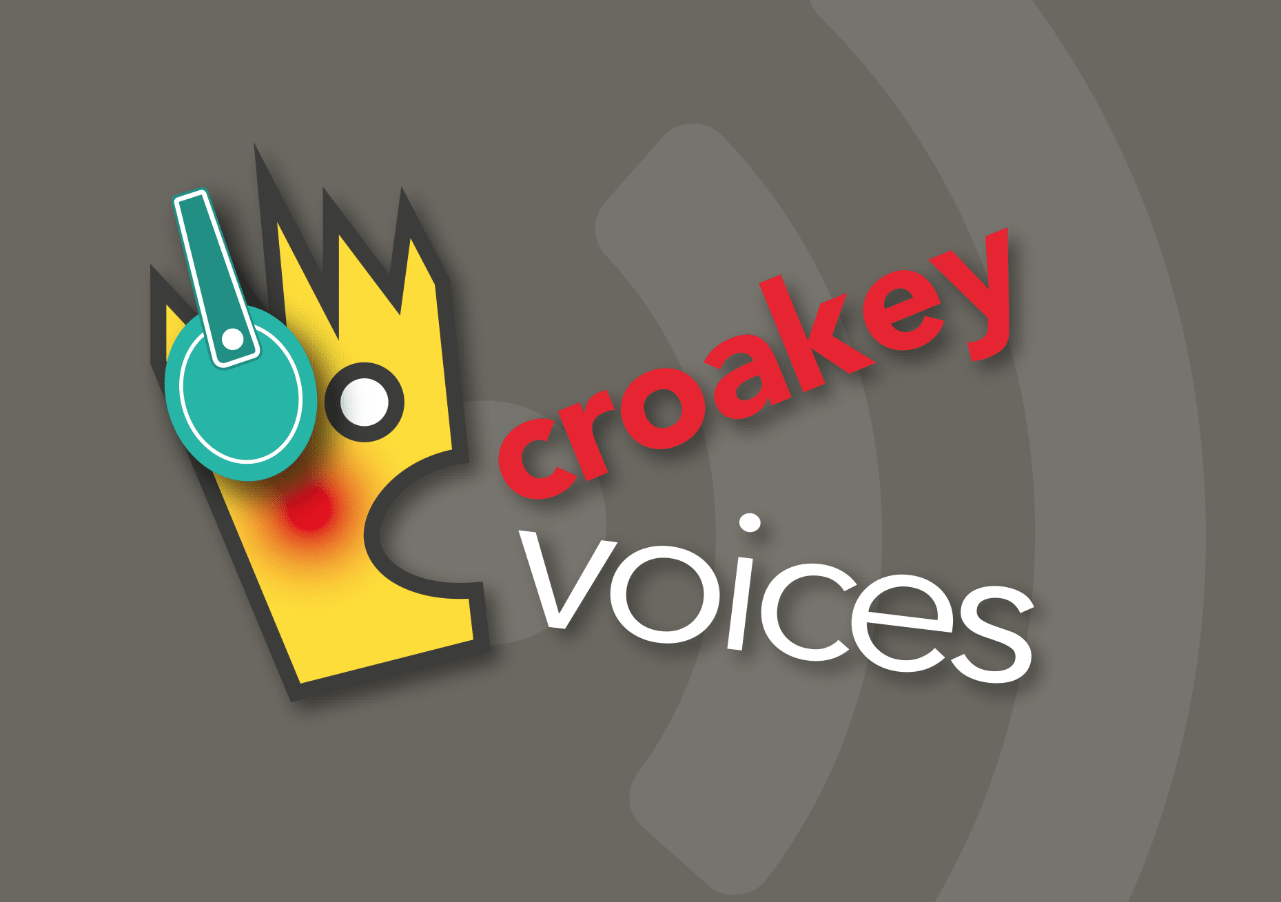 Listen up! It's the second #CroakeyVOICES podcast