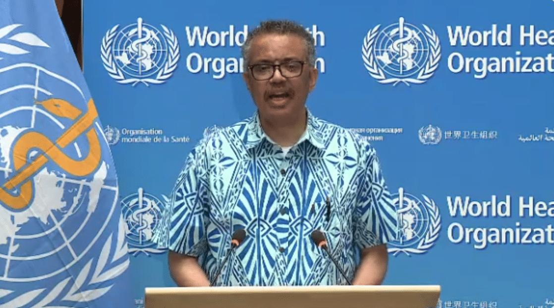 WHO Secretary General Dr Tedros addresses WHA73